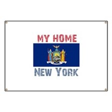 My Home New York Vintage Styl Banner