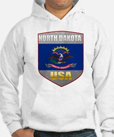 North Dakota USA Crest Hoodie