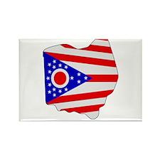 Ohio Stripe Custom Design Rectangle Magnet