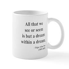 Edgar Allan Poe 1 Small Mug