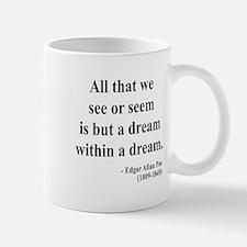 Edgar Allan Poe 1 Small Small Mug