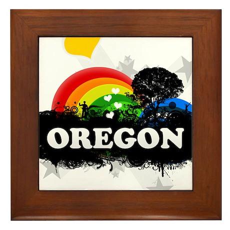 Sweet Fruity Oregon Framed Tile