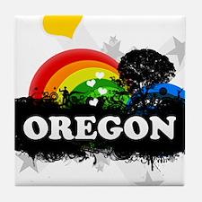 Sweet Fruity Oregon Tile Coaster