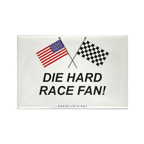 Die Hard Race Fan Rectangle Magnet (10 pack)