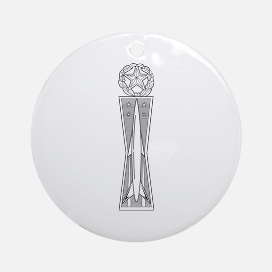 Missile Ornament (Round)