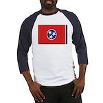 Beloved Tennessee Flag Modern Baseball Jersey