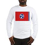 Beloved Tennessee Flag Modern Long Sleeve T-Shirt