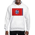 Beloved Tennessee Flag Modern Hooded Sweatshirt