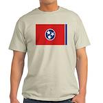 Beloved Tennessee Flag Modern Light T-Shirt