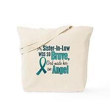 Angel 1 TEAL (Sister-In-Law) Tote Bag