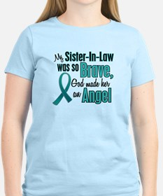 Angel 1 TEAL (Sister-In-Law) T-Shirt