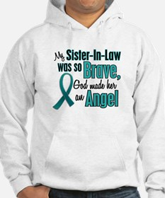 Angel 1 TEAL (Sister-In-Law) Hoodie