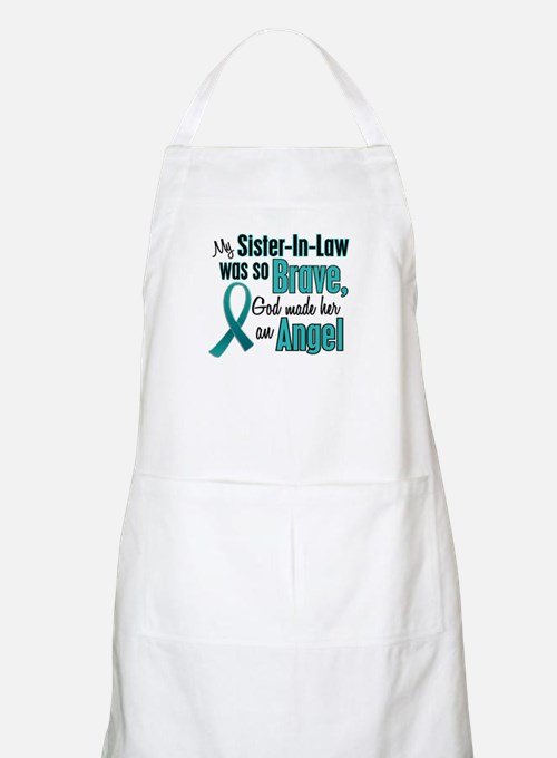 Angel 1 TEAL (Sister-In-Law) BBQ Apron