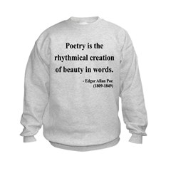 Edgar Allan Poe 2 Sweatshirt