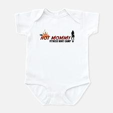 Hot Mommy Fitness Boot Camp Infant Bodysuit
