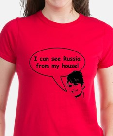 Palin sees Russia Tee