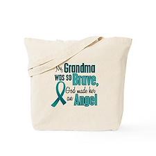 Angel 1 TEAL (Grandma) Tote Bag