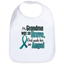 Angel 1 TEAL (Grandma) Bib