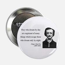 "Edgar Allan Poe 3 2.25"" Button (10 pack)"