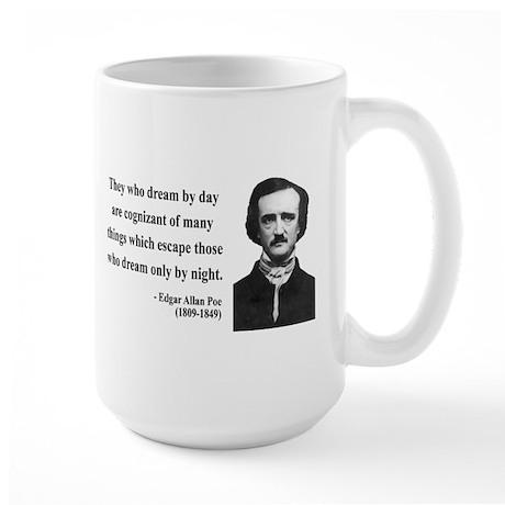 Edgar Allan Poe 3 Large Mug