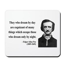 Edgar Allan Poe 3 Mousepad