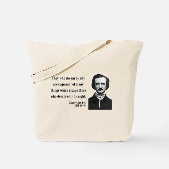 Edgar Allan Poe 3 Tote Bag