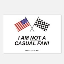 NOT Casual Fan Postcards (Package of 8)