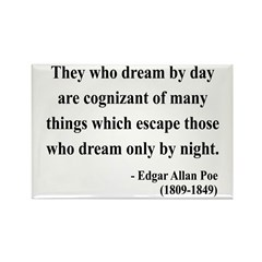 Edgar Allan Poe 3 Rectangle Magnet (100 pack)