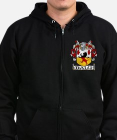 Daly Coat of Arms Zip Hoodie