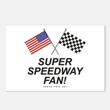 Super Speedway Fan Postcards (Package of 8)