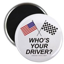 Who's Your Driver Magnet
