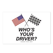 Who's Your Driver Postcards (Package of 8)