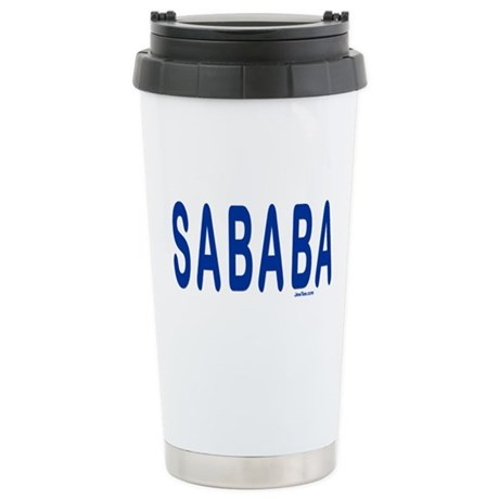 SABABA AWESOME Stainless Steel Travel Mug