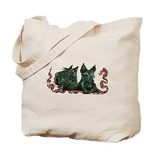 Scottish Terrier Pair Tote Bag