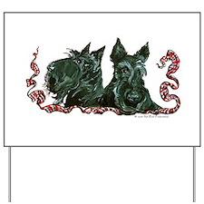 Scottish Terrier Pair Yard Sign