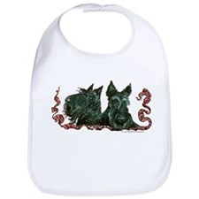 Scottish Terrier Pair Bib