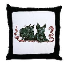 Scottish Terrier Pair Throw Pillow