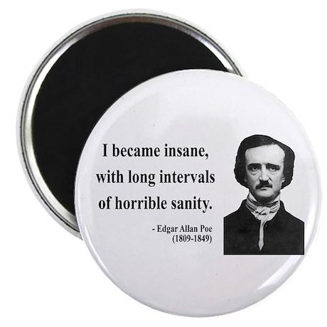 """Edgar Allan Poe 7 2.25"""" Magnet (100 pack)"""