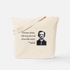 Edgar Allan Poe 7 Tote Bag