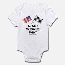 Road Course Fan Infant Bodysuit
