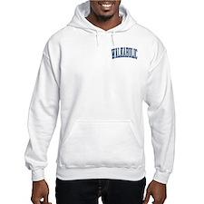 Walkaholic Nickname Collegiate Style Hoodie