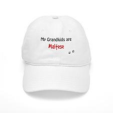 Maltese Grandkids Baseball Cap