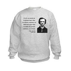 Edgar Allan Poe 4 Sweatshirt