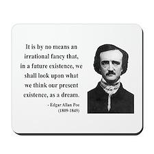 Edgar Allan Poe 4 Mousepad