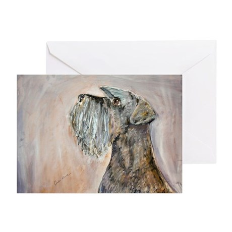 Miniature Schnauzer Greeting Cards (Pk of 10)