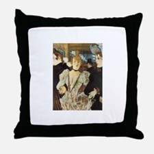 Toulouse-Lautrec Throw Pillow