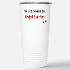 Boston Terrier Grandkids Travel Mug
