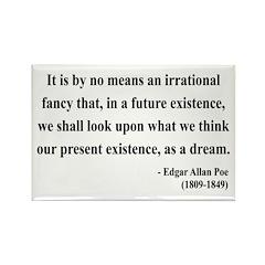 Edgar Allan Poe 4 Rectangle Magnet (10 pack)