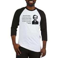 Edgar Allan Poe 5 Baseball Jersey