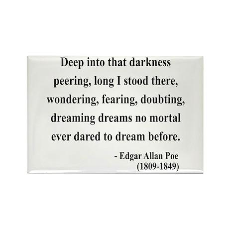 Edgar Allan Poe 5 Rectangle Magnet (10 pack)